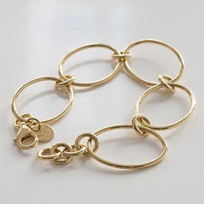 Marjana von Berlepsch Armband Jungle Silber vergoldet