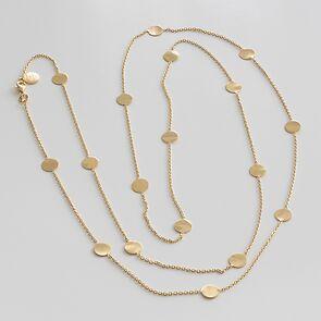 Marjana von Berlepsch Halskette Nela Silber vergold