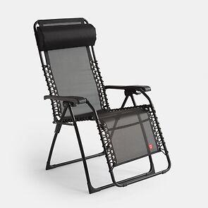 FIAM Komfortliegestuhl Relax Schwarz