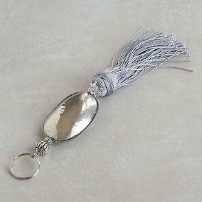 Schlüsselanhänger Tanger Silber