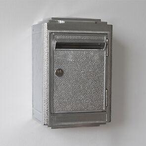 Briefkasten La Boîte Jaune Aluminium
