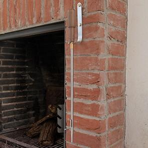 Eldvarm Wandhalterung für Feuerrohr