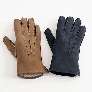 Damenhandschuhe Curly Lammfell