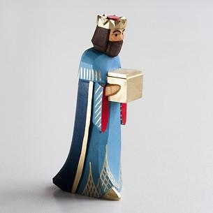Sievers-Hahn Krippenfigur Blauer König