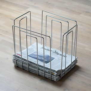 Zeitungs-Sammler paper collector