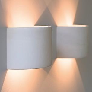 Torquato Halbzylinder für Wandbeleuchtung