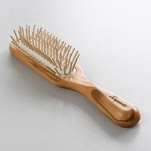 Torquato Olivenholz-Haarbürste lang