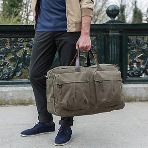 Property Of - Trip Bag 'Tommy' Dark Tan