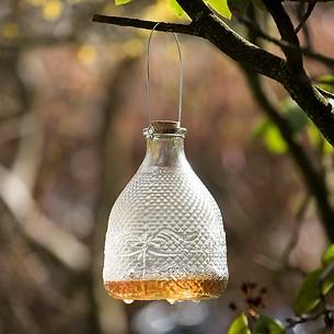 Vintage Wespenfalle Glas