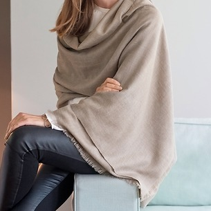 Cheshmeh Natural: Cashmere-Schal