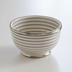 Keramikschale Kasba Grau-Creme