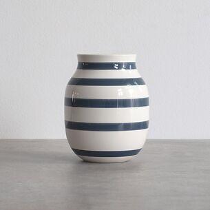 Omaggio Vase 20 cm Höhe Blau