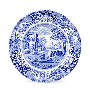 Spode Italian Blue Teller 20 cm