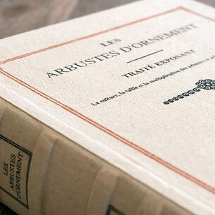 Große Buchbox 'Les Arbustes d'Ornement'