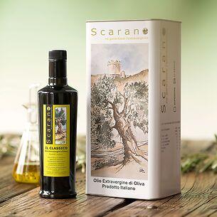 Natives Olivenöl extra aus Apulien