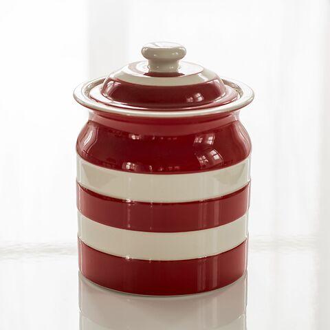 Vorratsgefäß 1,6 l Cornishware Rot