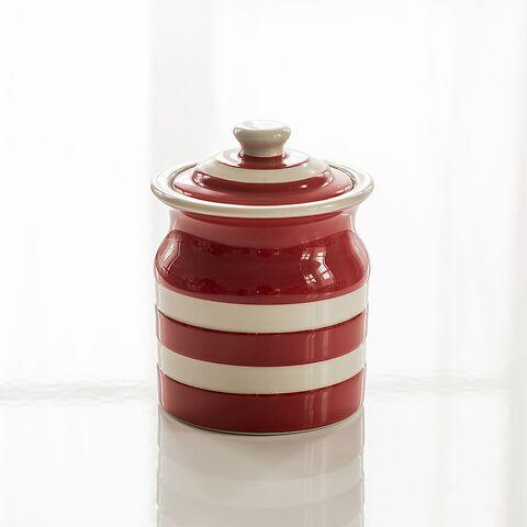 Vorratsgefäß 0,8 l Cornishware Rot
