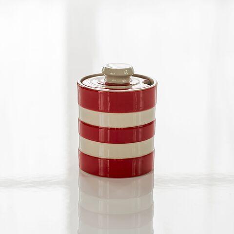 Marmeladenpott Cornishware Rot