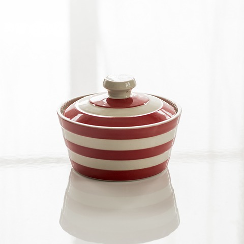 Butterdose Cornishware Rot