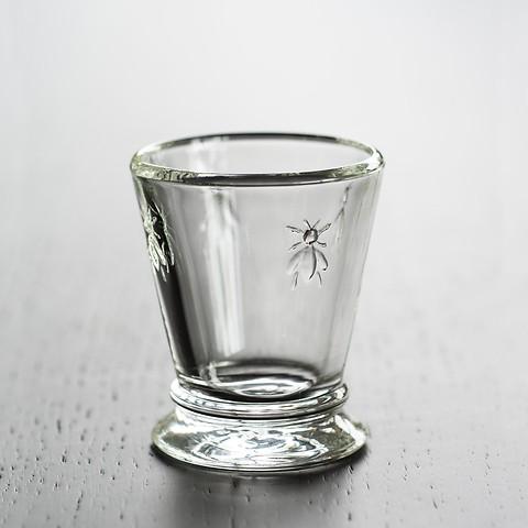 La Rochère 4 Trinkgläser mit Biene klein