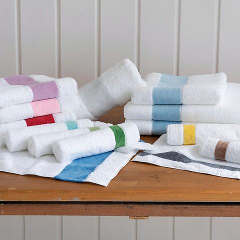 Feiler Handtücher mit Chenille-Bordüre