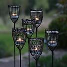 6 Gartenwindlichter