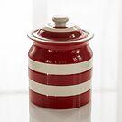 Vorratsglas 1,6 l Cornishware Rot