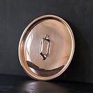 Mauviel Kupfer-Deckel mit Edelstahl-Griff