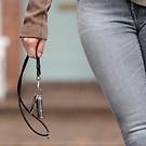 Schlüsselband aus Leder