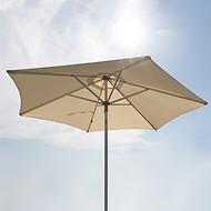 Alu-Sonnenschirm Natur, 300 cm
