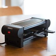 Mini Raclette mit Adapter für die Schweiz