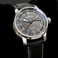 Fortis Flieger Professional Armbanduhr mit Lederarmband