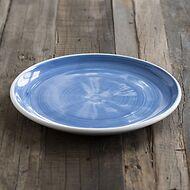 Ruggeri Brushed Blu Großer Teller 30 cm