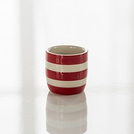 4 Eierbecher Cornishware Rot