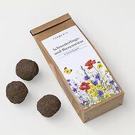 Samenkugeln Schmetterlings- und Bienenwiese