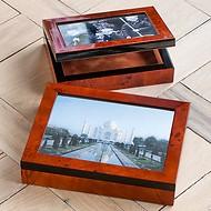 Wurzelholz Fotobox
