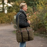 Croots Vintage Canvas Flight Bag
