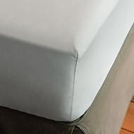 Spannbettlaken aus Baumwollperkal