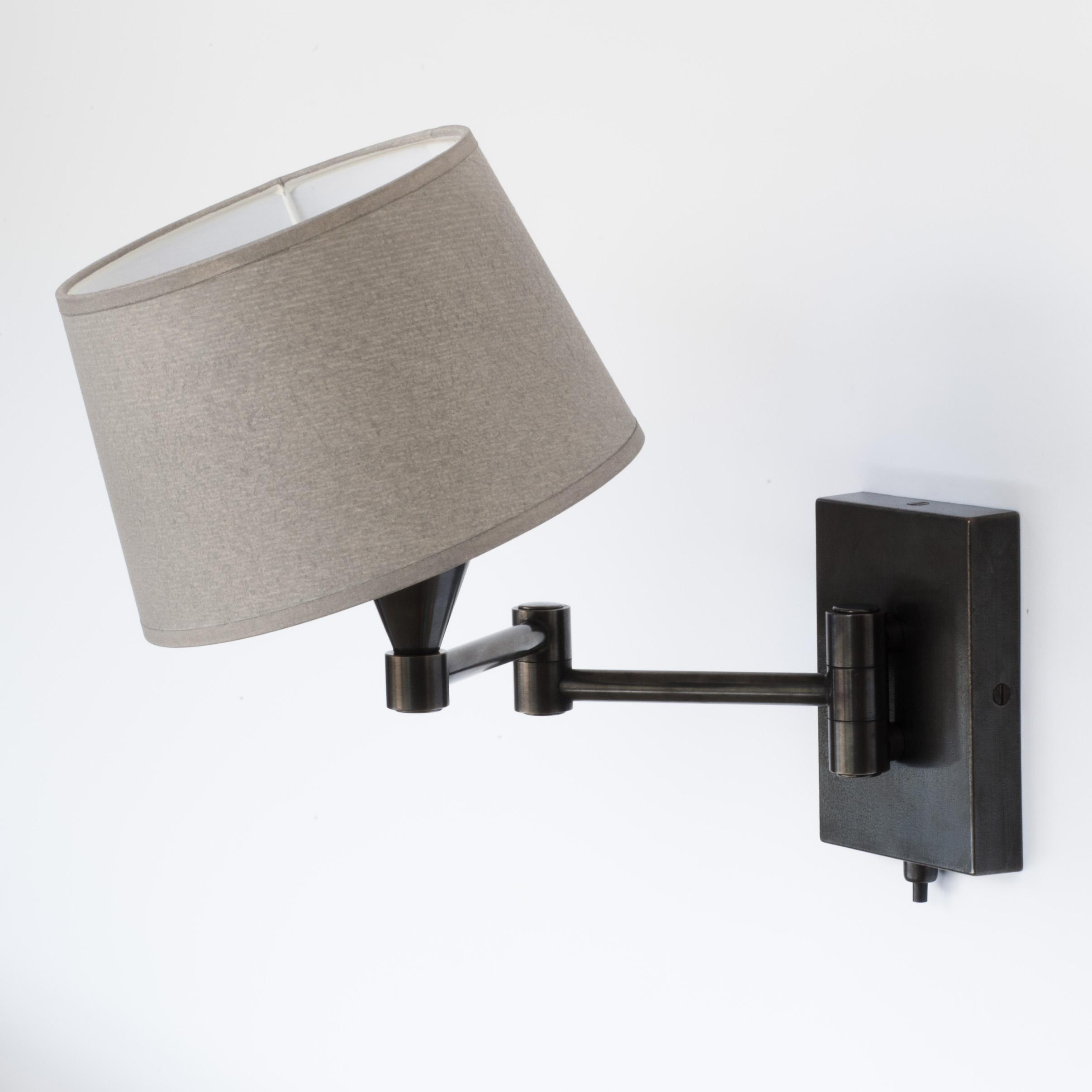 schwenkbare wandleuchte s schwarz bei. Black Bedroom Furniture Sets. Home Design Ideas