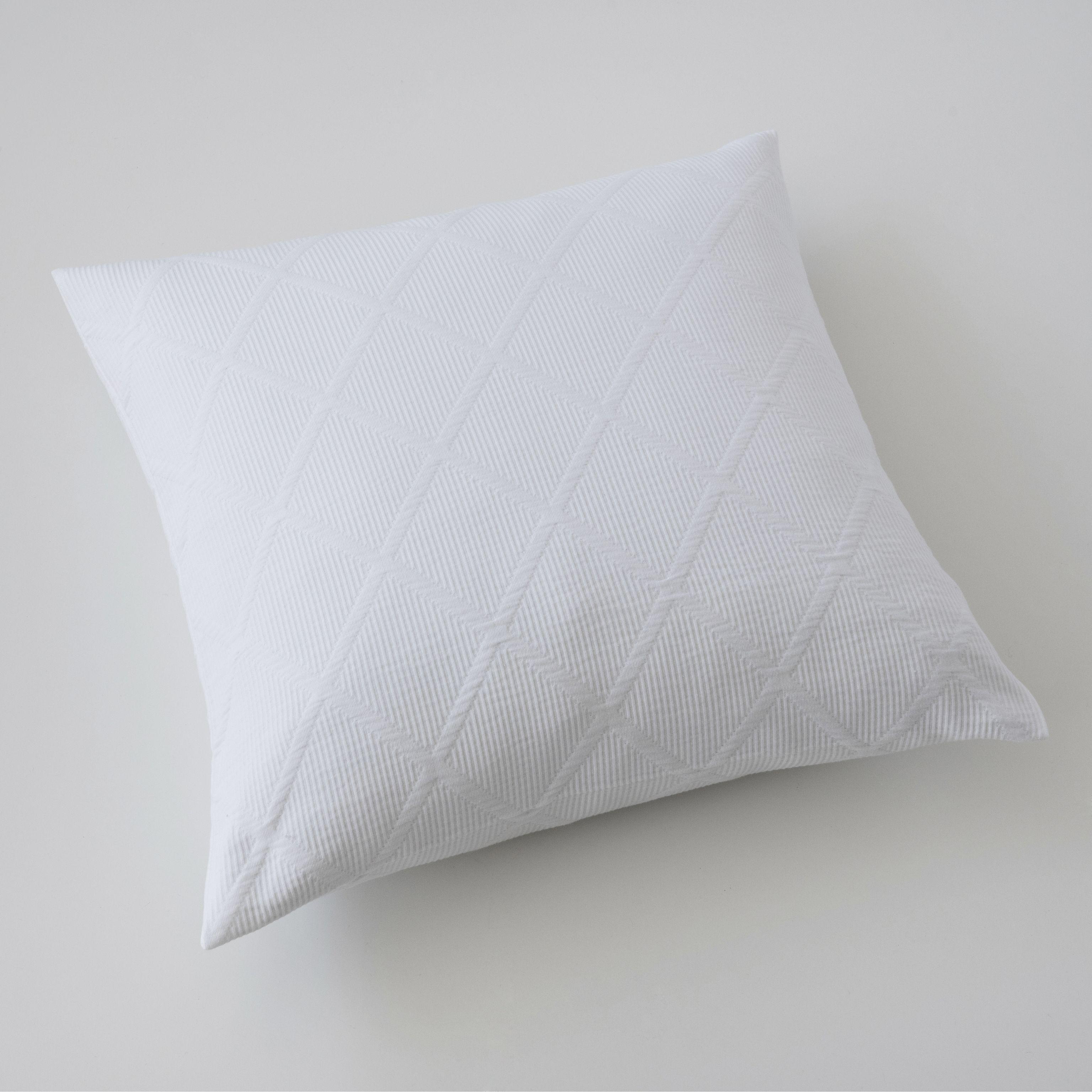 kissenbezug rauten 50 x 50 cm wei bei. Black Bedroom Furniture Sets. Home Design Ideas