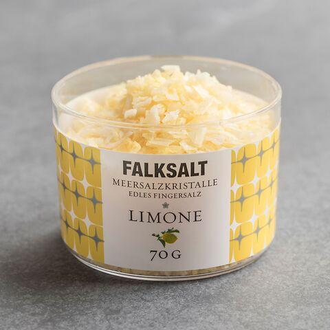 Falksalt Fingersalz Limone 70g