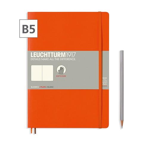 Notizbuch B5 Composition Blanko Orange