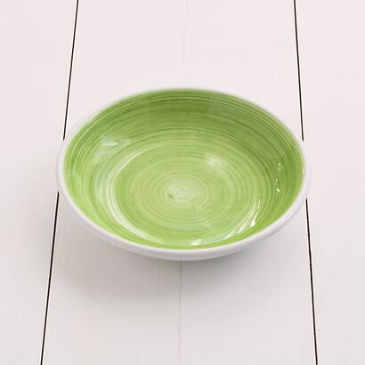 Ruggeri Brushed Verde Mela Suppenteller 22 cm
