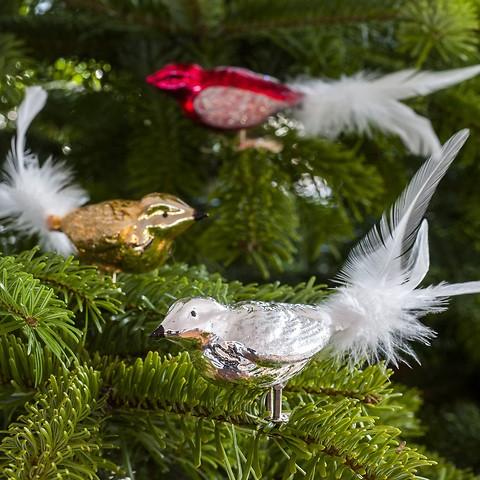 3 Lauschaer Weihnachtsamseln