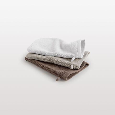 Torquato WHITE Waschhandschuh16 x 22 cm