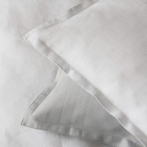 Vianatece Kissenbezug aus Leinen 80 x 80