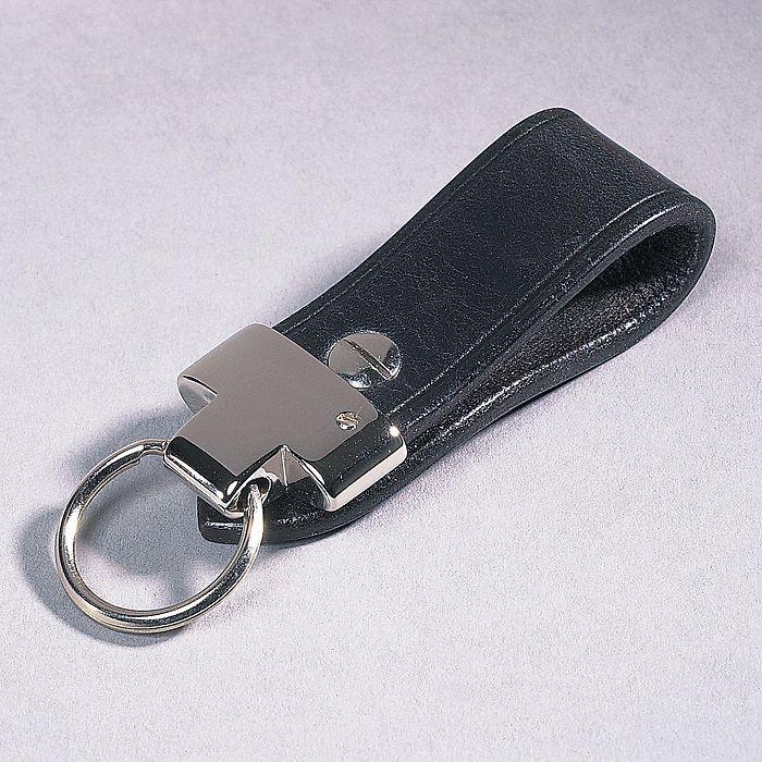 Schlüsselanhänger Loop schwarz