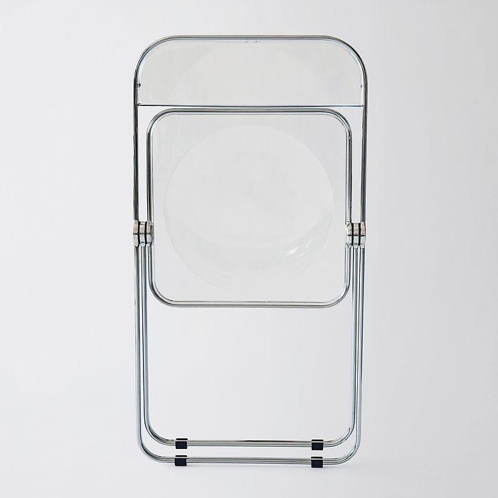 Plexiglas-Klappstuhl Plia