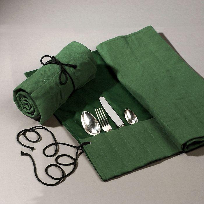 Besteck-Wickeltasche 12 Teile