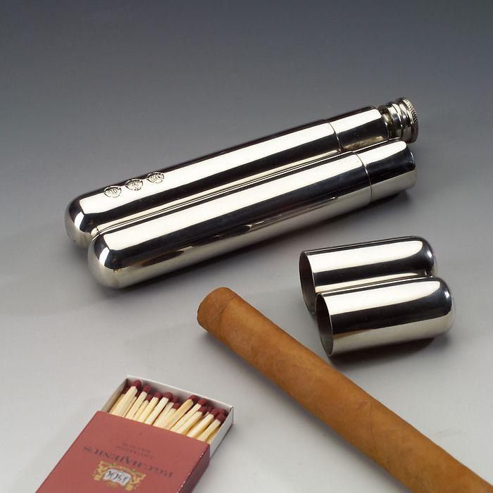 Zigarrenetui mit Trinkflasche